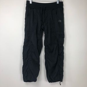 The North Face black cropped pants. Small